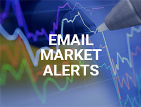 Sign up for market alerts